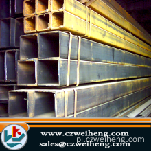 PL / T8613 GB / T8612 Square Steel Pipe /