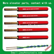 Câble élévateur plat câble élévateur, câble grue usagé, câble élévateur ascenseur câble plat