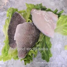 Peau de haute qualité sur filet de tilapia noir