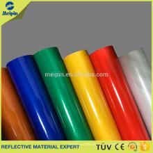 Blanco, rojo, amarillo, verde, azul, negro Color Vinilo reflectante autoadhesivo