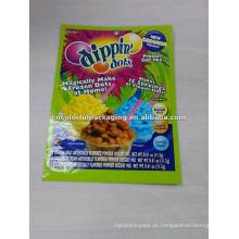 Saco de empacotamento de sorvete Dippin Dots