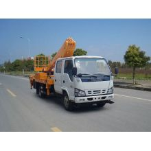 ISUZU+aluminium+folding+telescopic+work+platform+vehicle