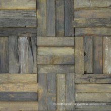 Suitable for Vintage Building Materials Wood Mosaic Tile