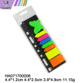 Neon Sticky Notes Bandiere Colori brillanti alternati