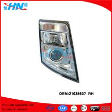 Volvo Head Lamp 21035637 Heavy Duty Truck Parts