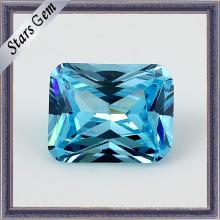 Piedra preciosa sintética de Zirconia cúbica de octángulo