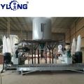 Máquina para la fabricación de pellets de madera.