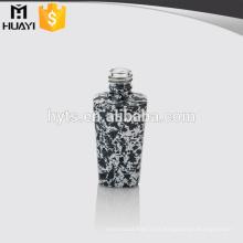 botellas de esmalte de uñas únicas de cristal al por mayor coloreadas