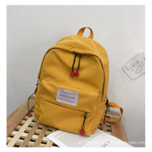 Wholesale custom fashionable younger canvas backpack