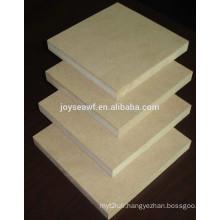 Plain or melamine faced MDF or HDF board used for furniture