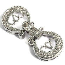 Fashion Padlock Jewelry Clasp Connector Accessory Connection Fingings Cadenas