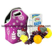 Full Colors Waterproof Neoprene Lunch Bag, Lunch Cooler Bag