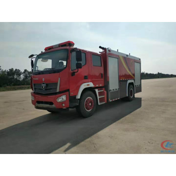 emergence vehicles water foam fire engine truck