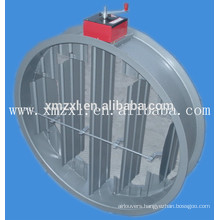 Manual or electric Round Fire damper for HVAC system in good quality