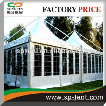 5x5m outdoor aluminum frame car roof top tent for hot sale