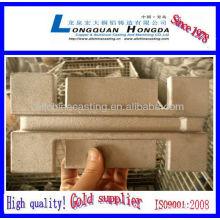 Qingdao aluminium die cast door handle parts
