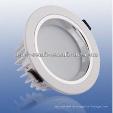 120-Grad-Strahlwinkel verstellbare LED-Einbauleuchte