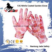 Gant de travail de sécurité en coton nitrile 13G