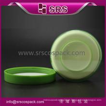 Jarra de plástico de alta e embalagem de plástico cosméticos frasco de creme, para cuidados da pele e frasco de acrílico cosméticos