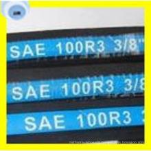 Premium Quality SAE 100 R3 Two High Tensile Steel Fibre Braided Hydraulic Hose (2T/B)