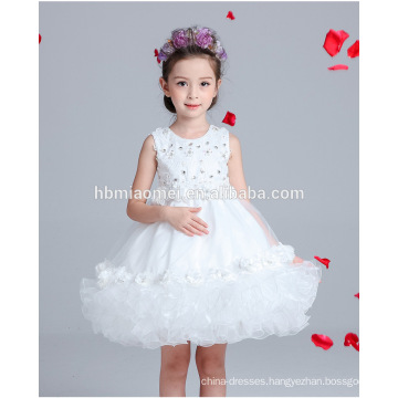 one piece baby girl party wear korean girl lace frock design dress for party and performance