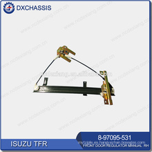 Manual del regulador de puerta delantera TFR PICKUP genuino RH 8-97095-531