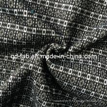 Beau tissu Jacquard Poly / Rayon / Spandex (QF13-0695)