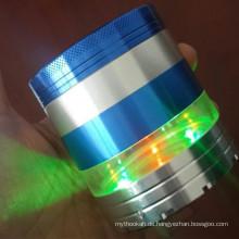 Dark Light Metal Grinder für Tabak Rauchen Großhandel (ES-GD-044)