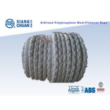 8 Strand 64mm 220m Length Polypropylene Mooring Rope
