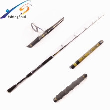 JGR102 Hot selling wholesale powerful carbon nano fishing jigging rod bank strong jigging rod