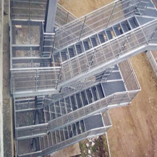 Steel Grating Fire Escape Trappor