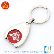 Оптовая продажа кольцо для ключей монетки вагонетки (КД-288)