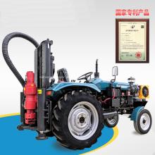 Máquina perfuradora de poço montada em trator para fazendas