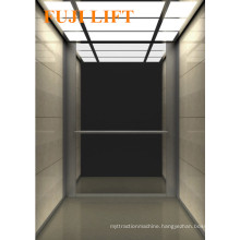 Etched Stainless Steel Mirror Residential Passenger Elevator