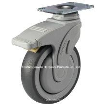 Schwenken mit Bremsen Medical TPR Caster