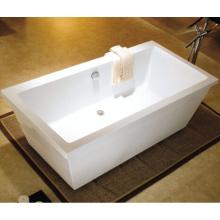 2015 neue Acryl freistehende Kunststoff Badewanne für Erwachsene