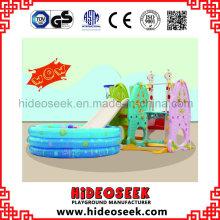 Mit Ball und Slide und Swing Plasti Spielzeug für Kleinkind
