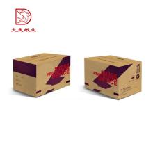 Profissional personalizado logotipo preço barato caixa de embalagem de fábrica de papelão ondulado