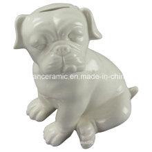 Животное фасонное ремесло, Керамическая собака Банк свинкою