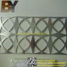 Feuille perforée en acier inoxydable en aluminium