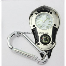 Mens Carabiner Clip Watch