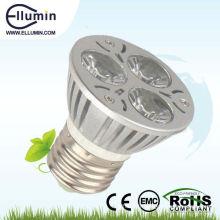 en aluminium 3w haute puissance led spotlight