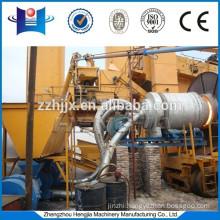 High efficiency coal fired burner for asphalt plant