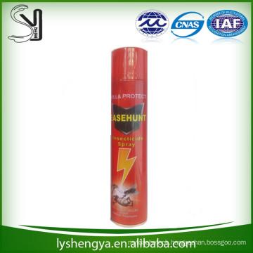 600ml manufactory new design mosquito killer spray
