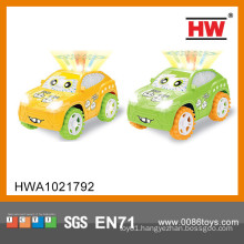 Hot sale funny plastic cartoon battery operated mini toy cars
