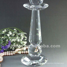 Выдвиженческое высокое качество свадебные высокие стеклянные подсвечники