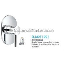Misturador de chuveiro ou de lavatório com 4 alavancas simples sem desviador