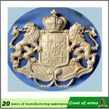 De boa qualidade Emblema material de alumínio