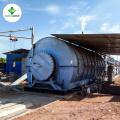 Nouvelle technologie !! Recyclage de pneus en caoutchouc pyrolyse à l'usine de pétrole brut