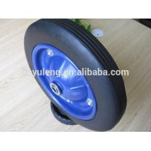 13 x 3 ruedas de goma maciza para carretilla de construcción deber